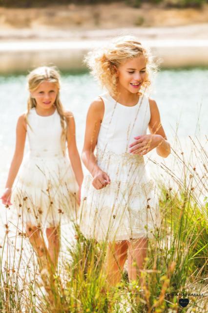 Linea Raffaelli kids 2021 - Set 011 - Dress 210-537-01 + Set 016 - Dress 210-531-01 -