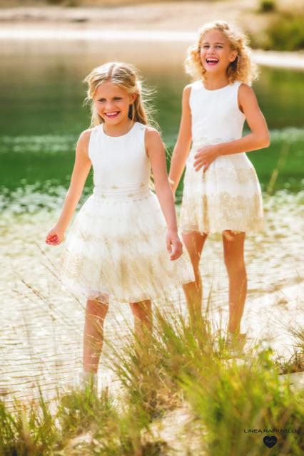 Linea Raffaelli kids 2021 - Set 011 - Dress 210-537-01 + Set 016 - Dress 210-531-01