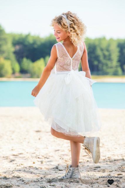 Linea Raffaelli kids 2021 - Set 012 - Dress 210-522-01 Back