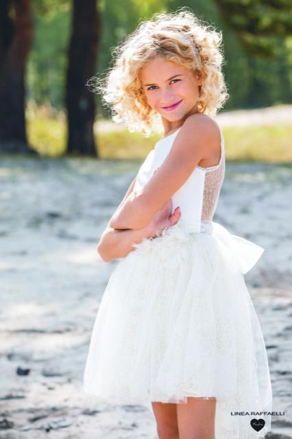 Linea Raffaelli kids 2021 - Set 012 - Dress 210-522-01 Side