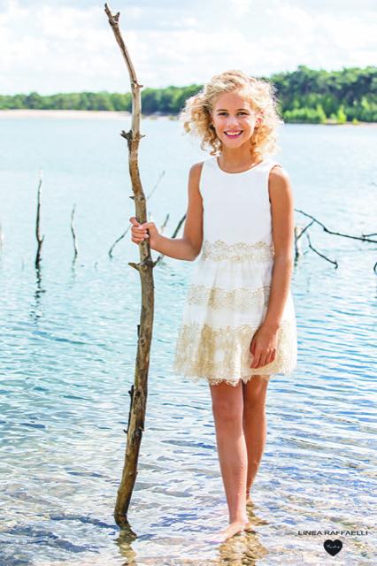 Linea Raffaelli kids 2021 - Set 016 - Dress 210-531-01