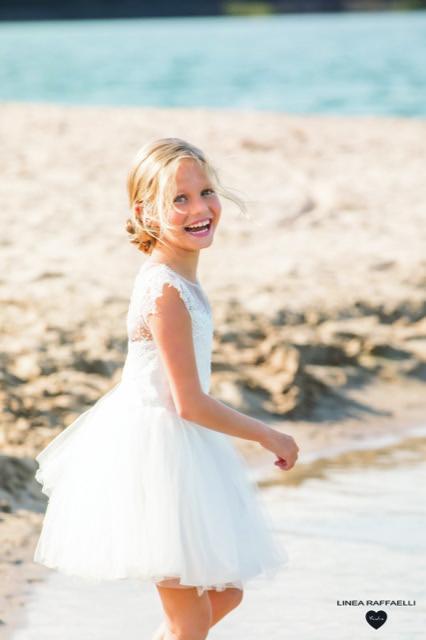 Linea Raffaelli kids 2021 - Set 017 - Dress 210-508-01 Side