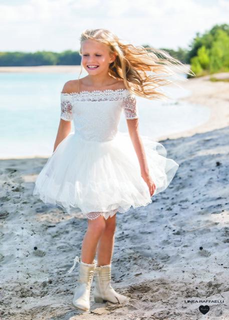 Linea Raffaelli kids 2021 - Set 020 - Dress 210-507-01 Turn