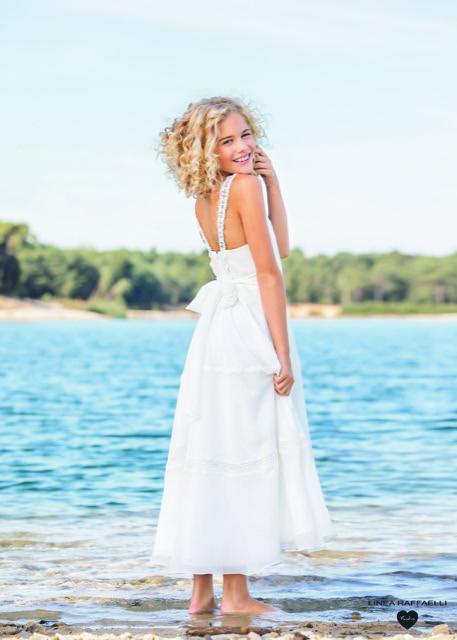 Linea Raffaelli kids 2021 - Set 031 - Dress 210-503-01 Back