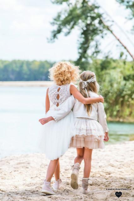 Linea Raffaelli kids 2021 - Set 048 - Jacket 210-539-01 - Dress 210-539-01 + Set 058 - Dress 210-526-01 Back