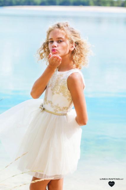 Linea Raffaelli kids 2021 - Set 060 - Dress 210-573-01 Kiss